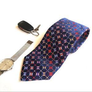 Robert Talbott Best of Class Blue Woven Silk Tie